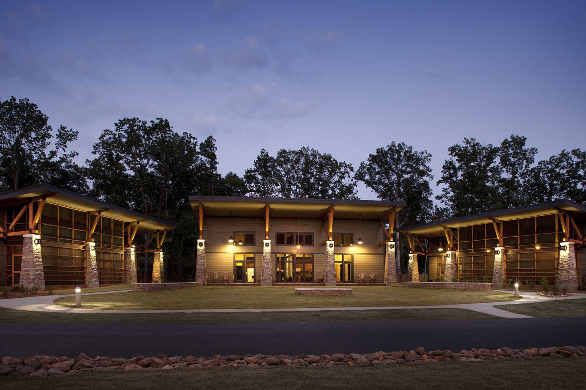 Pleasant Ridge Camp And Retreat Center Dp3 Architects