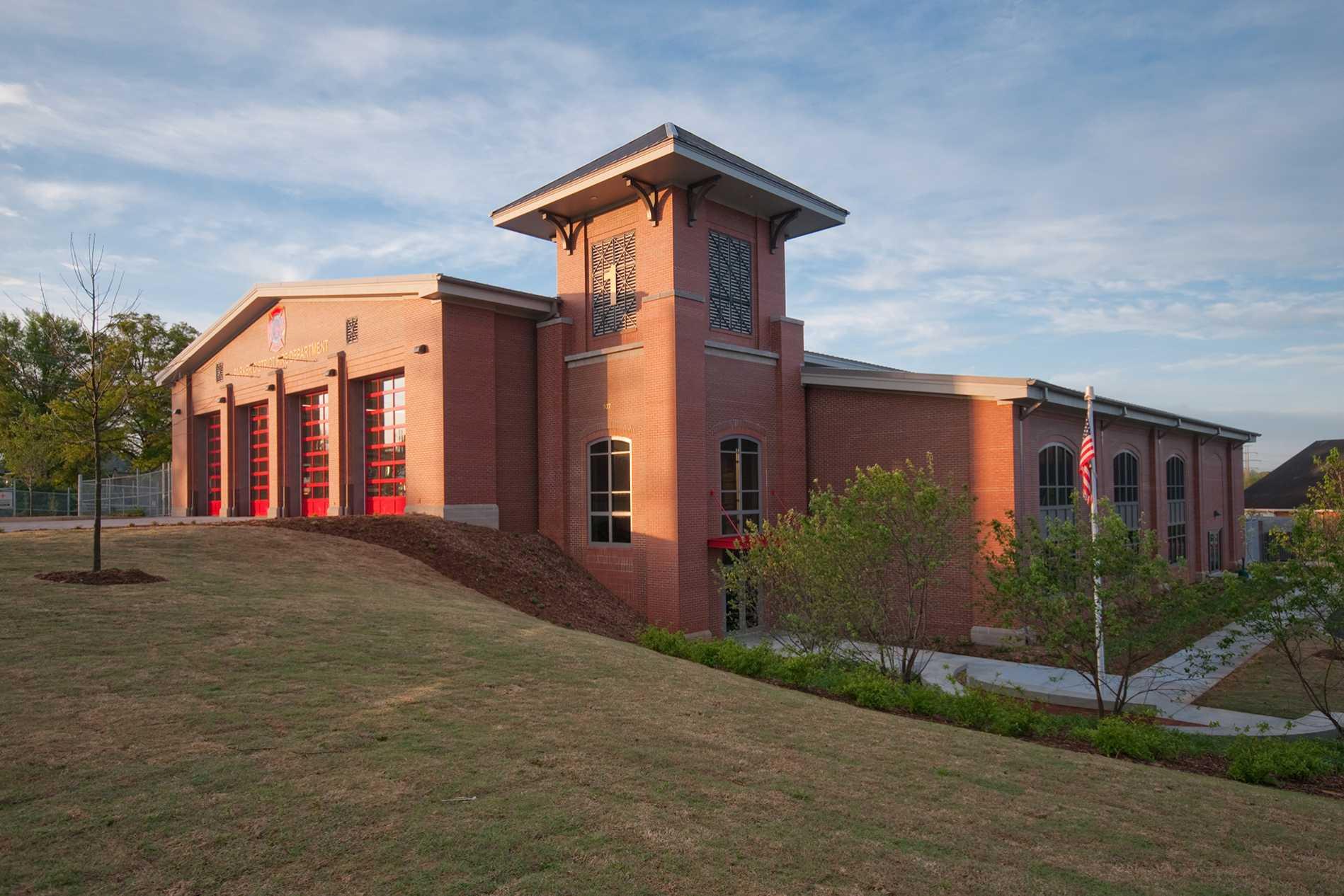 Parker District Fire Station Headquarters Dp3 Architects