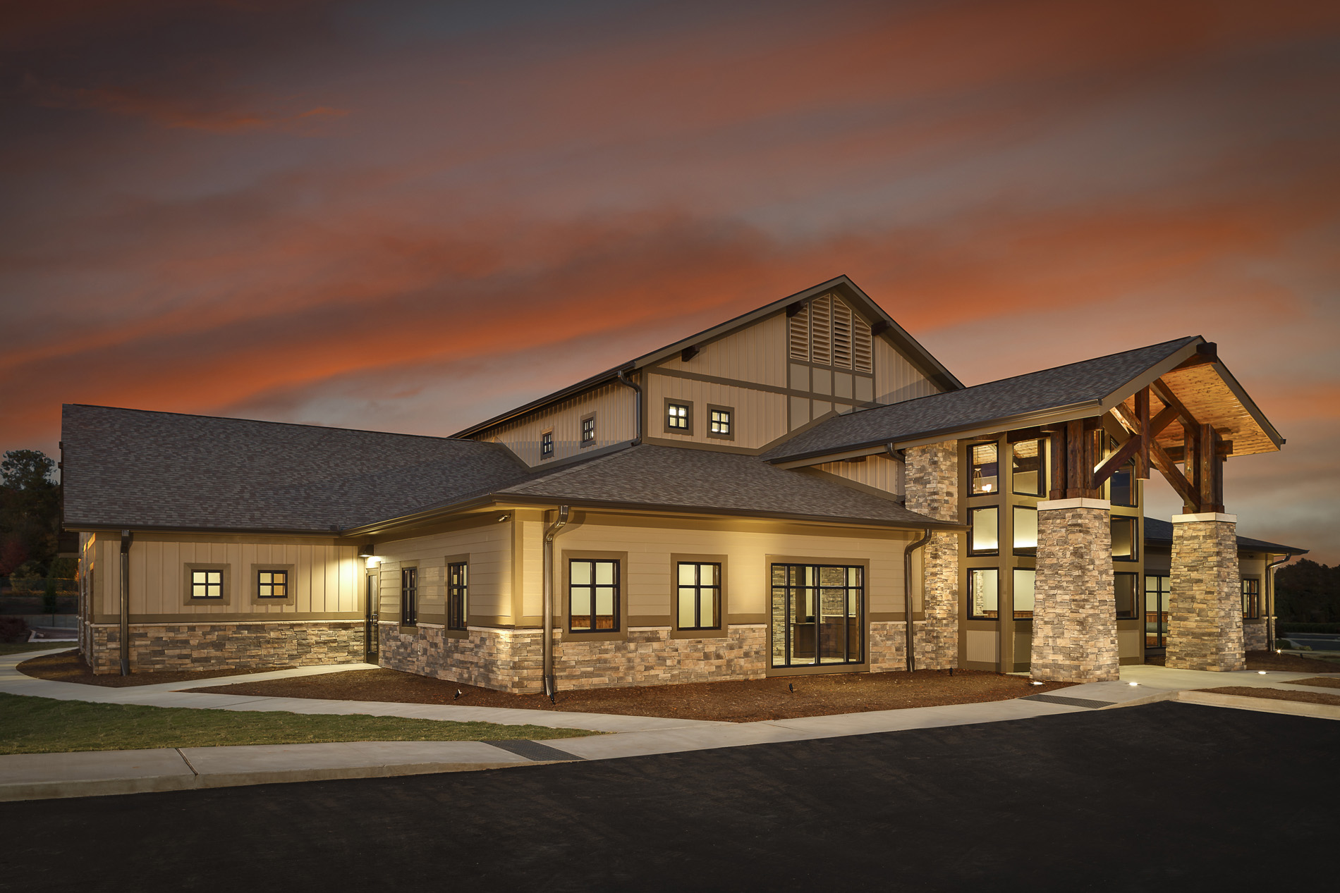 Pelham links family and cosmetic dentistry dp3 architects for Architects greenville sc