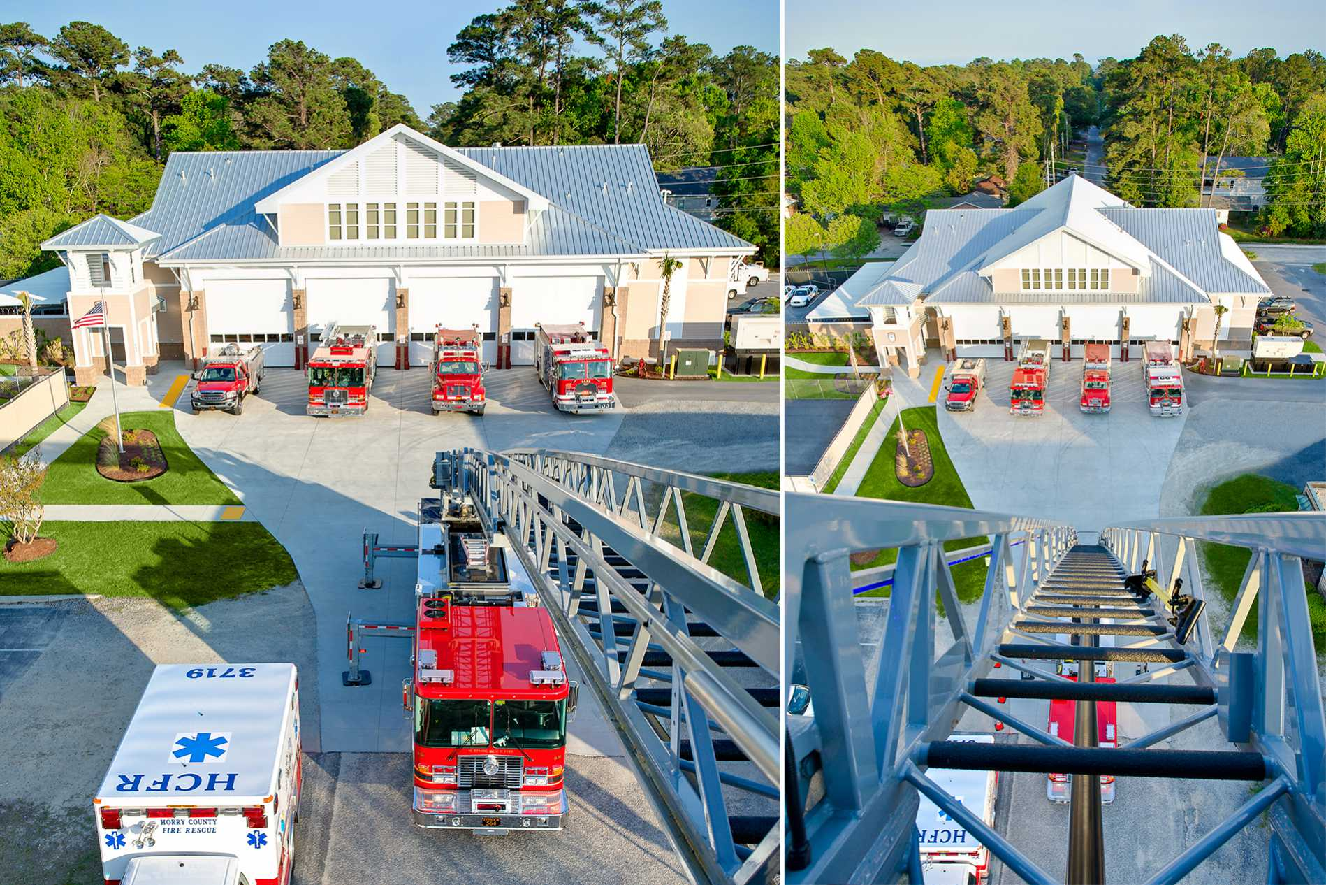 Surfside Beach Fire Station Headquarters Dp3 Architects