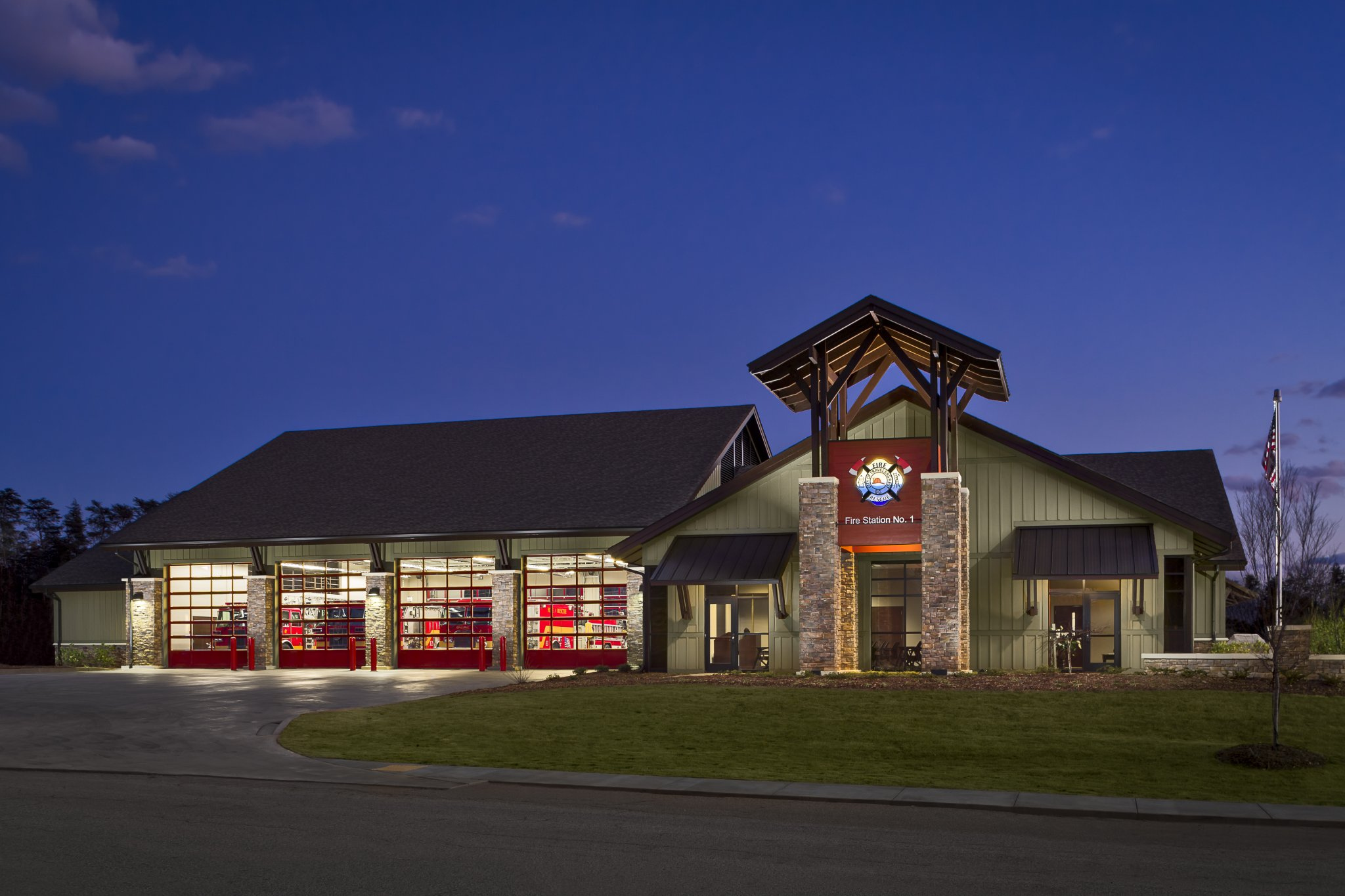 Travelers Rest Fire Station Dp3 Architects