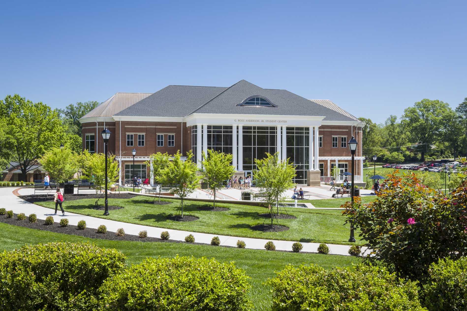 Legendary Homes Design Center Greenville Sc G Ross Anderson Jr Student Center Dp3 Architects