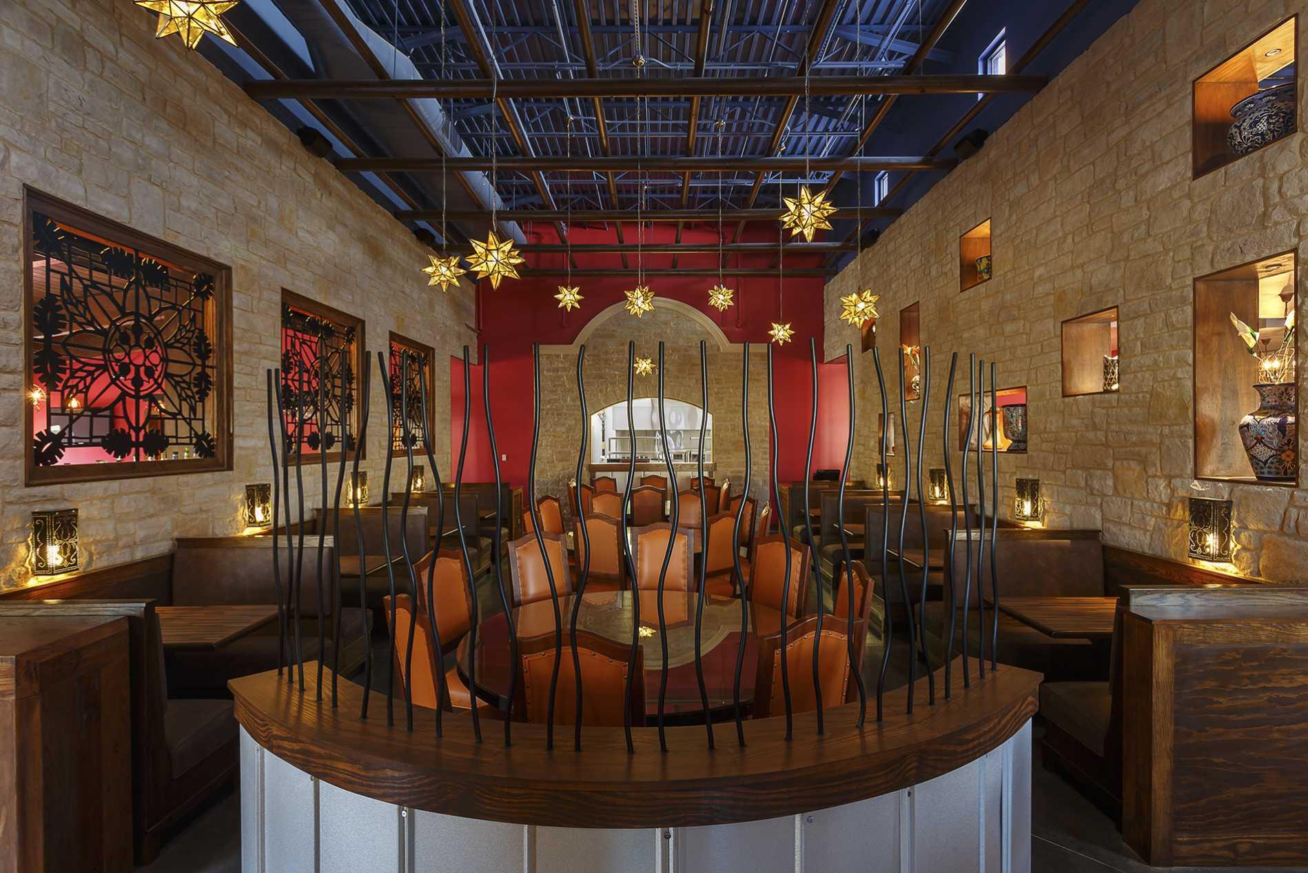 Featured Restaurant Design - Monterey Mexican Restaurant