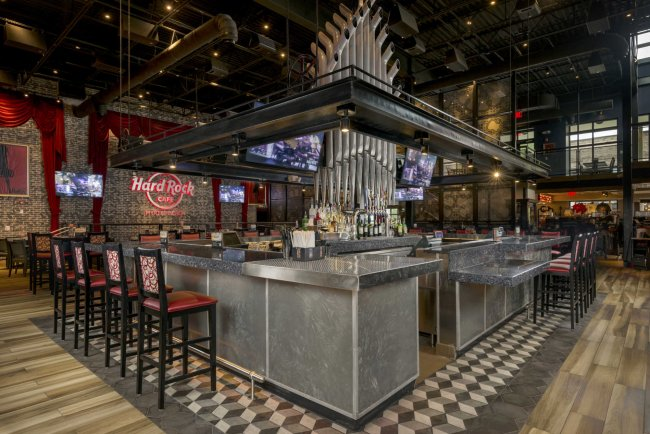 Restaurant Design of Hard Rock Cafe Bar in Myrtle Beach, SC