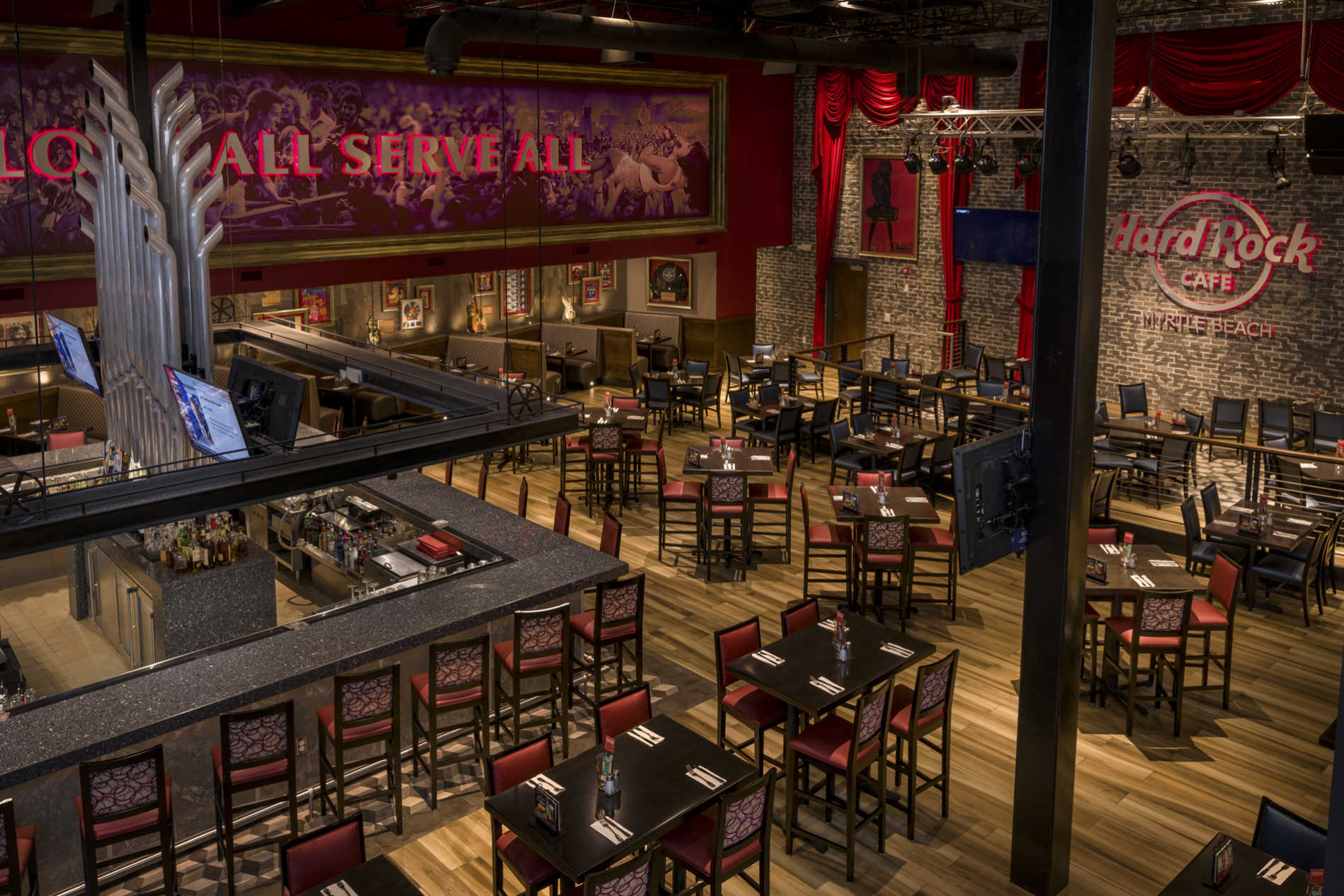 Hard Rock Cafe - Myrtle Beach, SC - Restaurant Design By DP3 Architects