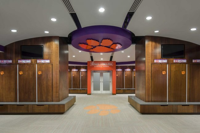 South Carolina Architect Firm, DP3 Architects - Project for Clemson University