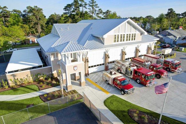 Fire Station Design for Surfside Beach, SC