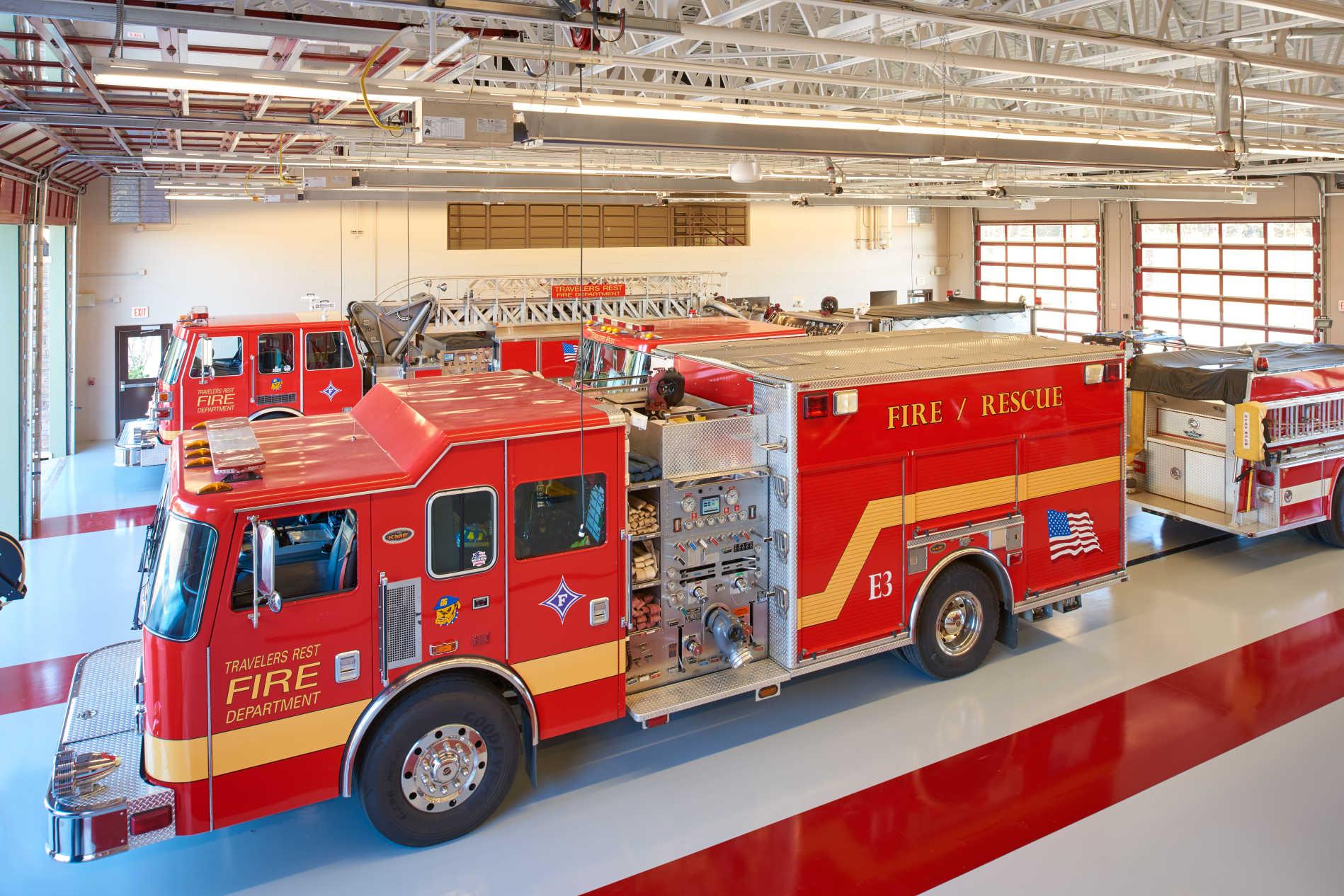 Interior Fire House Design - Travelers Rest