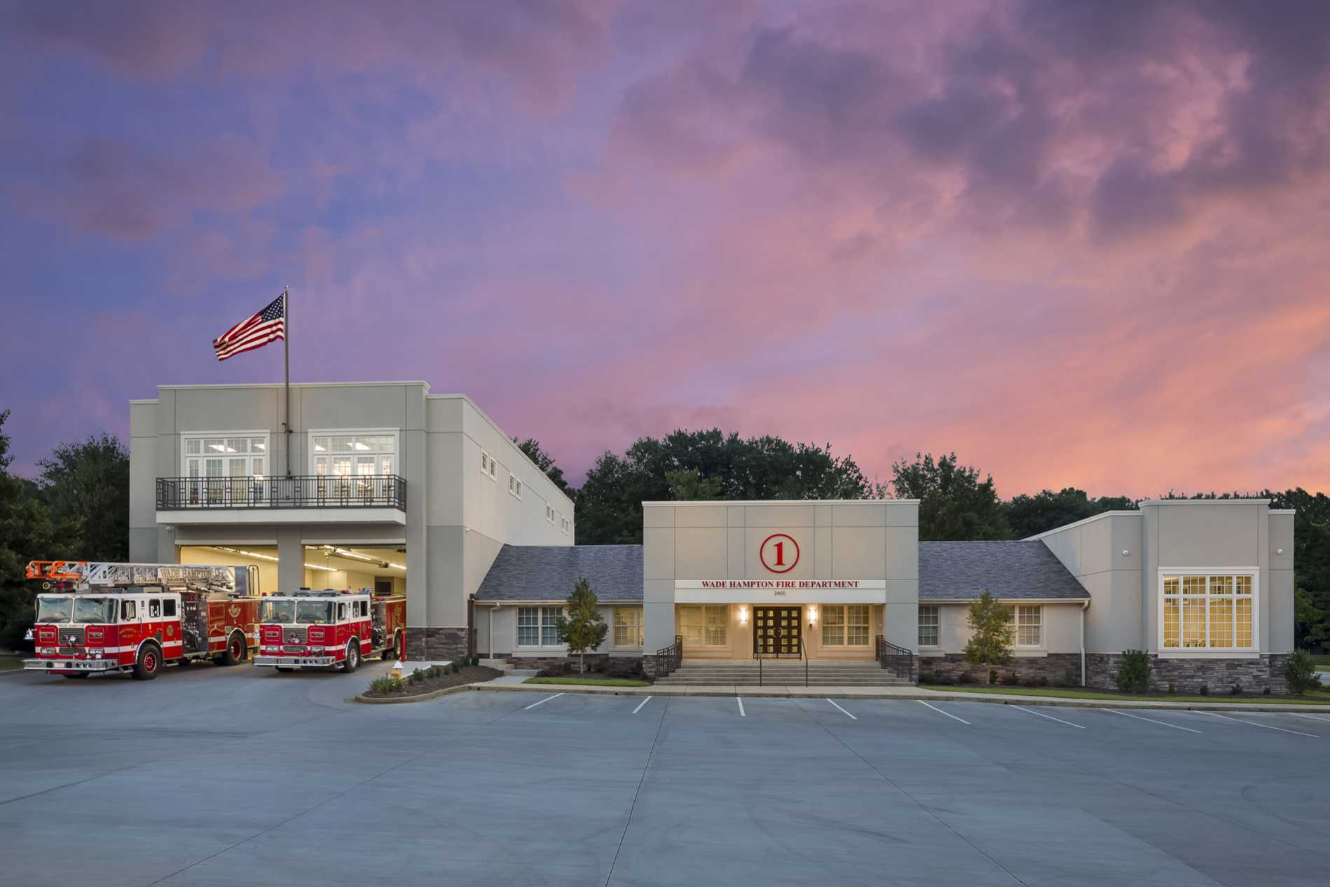 Fire Station Design Project - Wade Hampton Fire Department, Greenville, SC