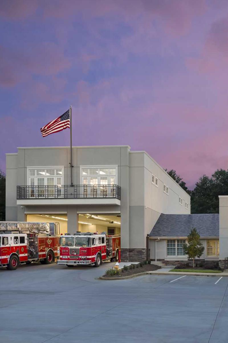 Fire Station Design Firm Wade Hampton Fire Department