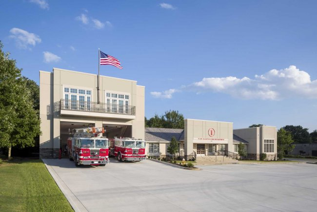 Fire Station Design Project - Wade Hampton Fire Station Exterior